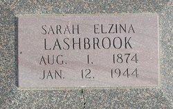 Sarah Elzina <i>Eads</i> Lashbrook