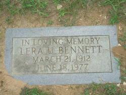 Lera Uvalda <i>Griffis</i> Bennett