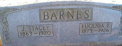 Eugenia Elizabeth <i>Felts</i> Barnes