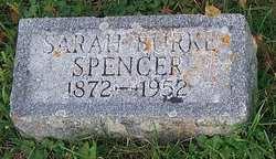 Sarah <i>Burke</i> Spencer