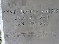 Mary Annie <i>Tucker</i> Andress