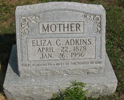 Eliza G <i>Woodall</i> Adkins