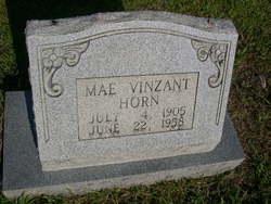 Mary <i>Vinzant</i> Horn