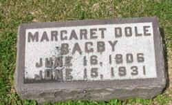 Margaret <i>Dole</i> Bagby