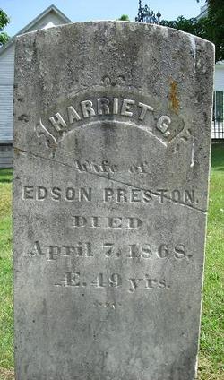 Harriet G Preston