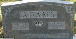 Hettie W Adams