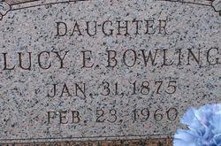Lucy E. Bowling