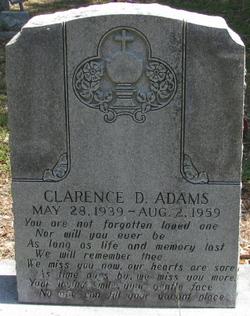 Clarence D Adams