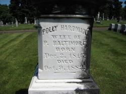 Polly <i>Hardman</i> Baltimore
