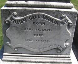Dr William Call Durkin