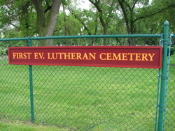 First Evangelical Lutheran Cemetery