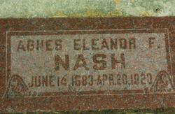 Agnes Elenor <i>Francom</i> Nash