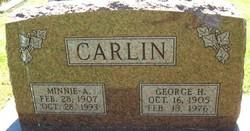 Minnie A Carlin