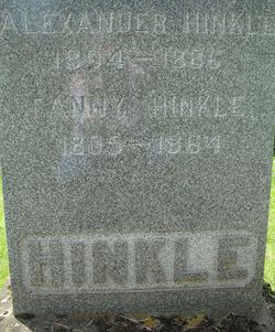Frances Fanny <i>Hinkle</i> Hinkle