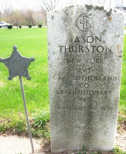 Jason Thurston Find-A-Grave tombstone photo