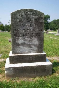 Frank Cannon Gaston