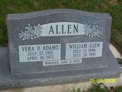 Vera H. <i>Adams</i> Allen