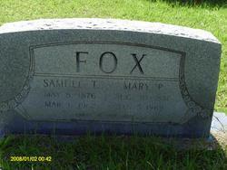 Mary <i>Peters</i> Fox