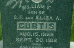 William F Curtis