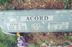 Roscoe G Acord