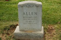 Clara C Allen