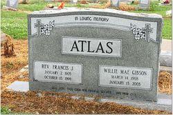 Rev Francis Joseph Bud Atlas, Sr