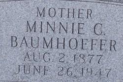 Wilhelmine Charlotte Minnie <i>Dubbert</i> Baumhoefer