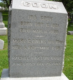 Rachel Faxton Cook