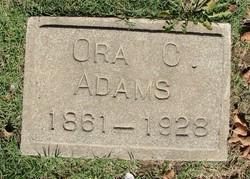 Ora C Adams