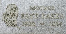 Faye Baker