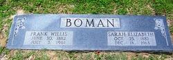 Frank Willis Boman