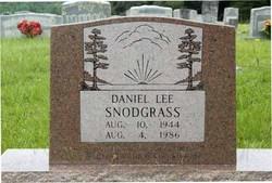 Daniel Lee Snodgrass