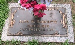 Alta Kate <i>Fields</i> Barnette