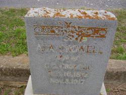 Ada <i>Probst</i> Crowell