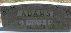 Eleanor D Adams
