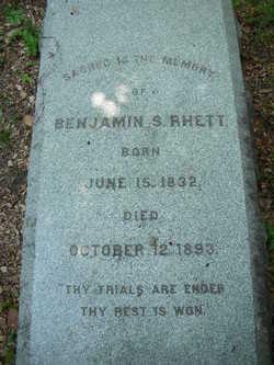 Lieut Benjamin S Rhett