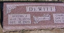 Bertha J DeWitt