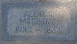 Addie C <i>Brahm</i> McCurry