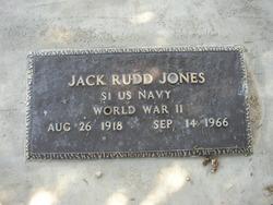 Jack Rudd Jones
