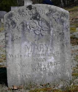 Mary M. <i>Bowers</i> Bible