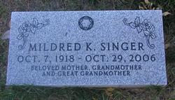 Mildred K. Singer