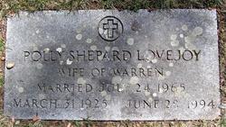 Pauline Polly <i>Shepard</i> Lovejoy