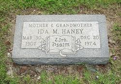 Ida Mary <i>Cox</i> Haney