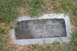 Anna Mae Annie <i>Moore</i> Elson
