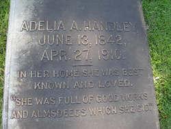 Adelia A <i>Mitchell</i> Handley