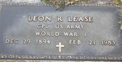 Leon Raymond Lease