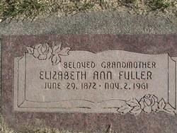 Elizabeth Ann <i>McNeil</i> Fuller