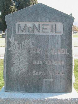 Mary Jane <i>Quinn</i> McNeil