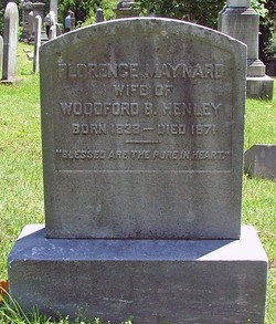 Florence <i>Maynard</i> Henley