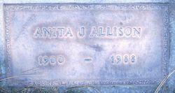 Anita J <i>Farrar</i> Allison